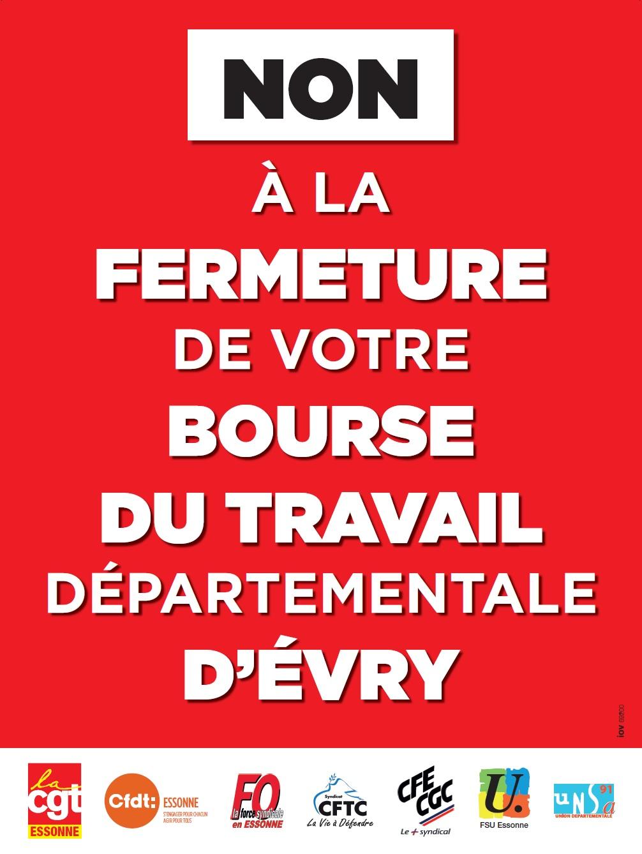Image of DEFENSE DE LA BOURSE DU TRAVAIL DE L'ESSONNE