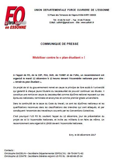 Image of LE GOUVERNEMENT VEUT LIQUIDER LE BACCALAUREAT : RETRAIT DU PROJET DE LOI