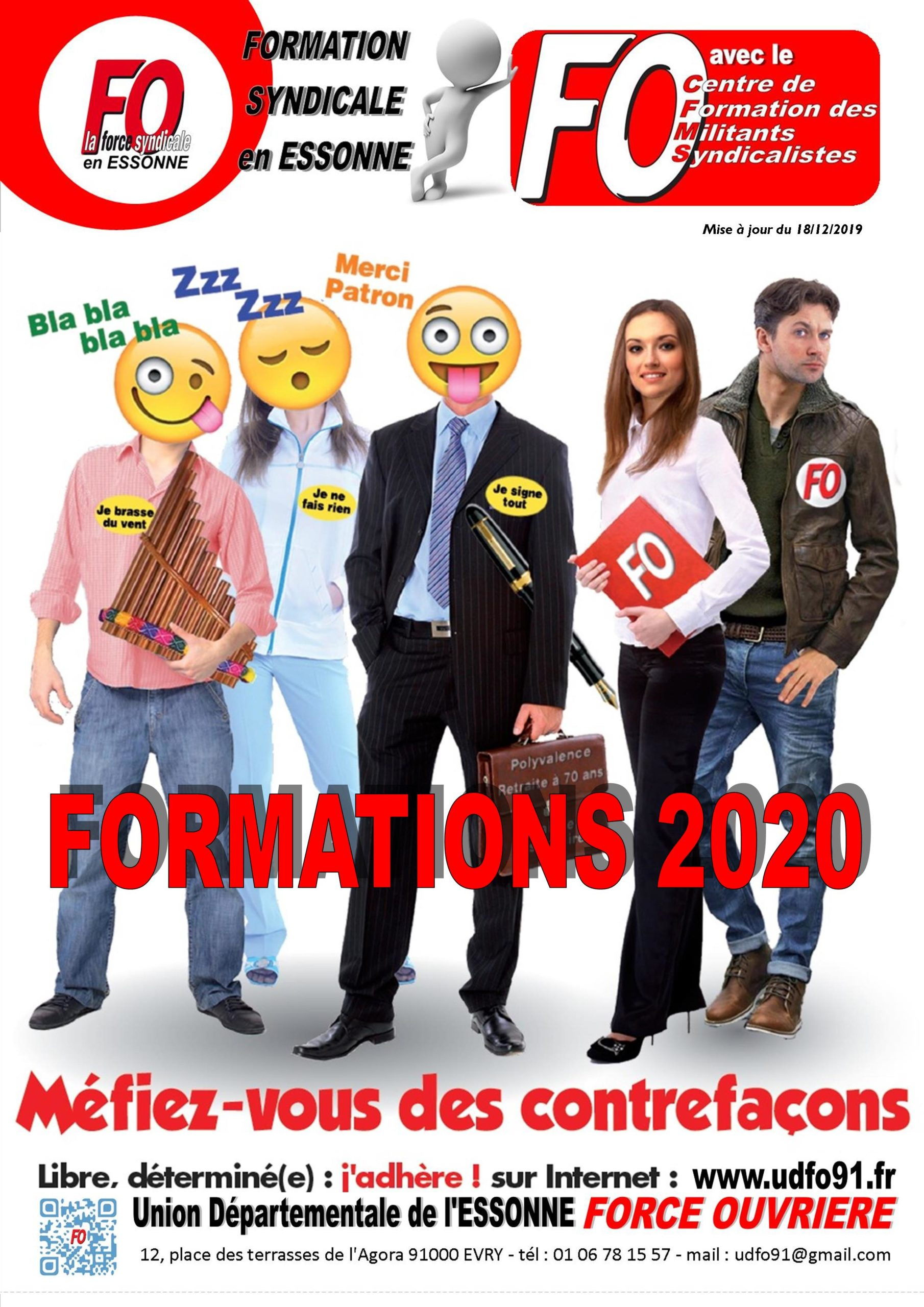Image of FORMATIONS SYNDICALES - CSE et SSCT