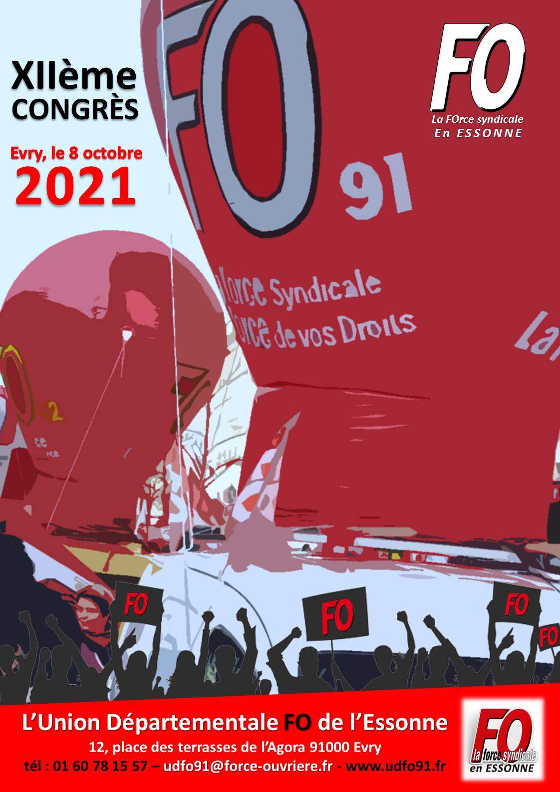 Image of XIIème CONGRES de l'UD FO 91