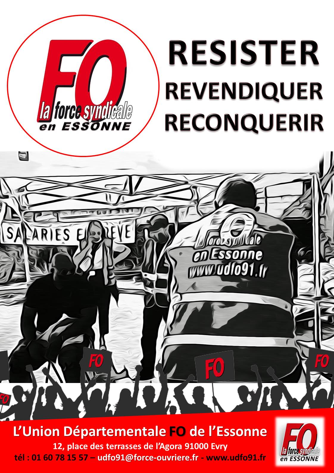 Image of RESISTER REVENDIQUER RECONQUERIR